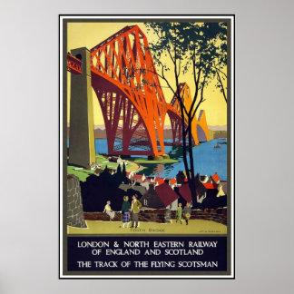 Vintage Posters Travel London Railway Scotland