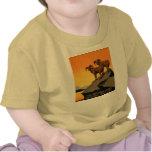 VIntage Preserve Wildlife Poster Tshirts