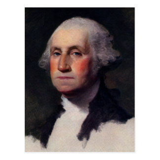 Vintage President portrait of George Washington Postcard