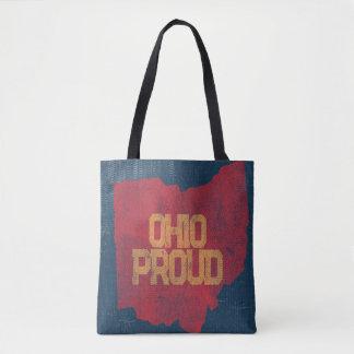 Vintage Press Ohio Proud Tote Bag