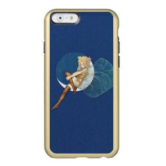 Vintage Pretty Blue Fairy Stockings Blue Moon Incipio Feather® Shine iPhone 6 Case