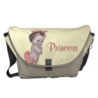 Vintage Princess Baby Diaper Bag Messenger Bag