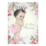 Vintage Princess Baby Shower Custom Invite