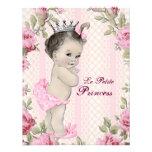 Vintage Princess Baby Shower Custom Invites