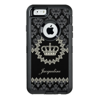 Vintage Princess Damask Crown OtterBox iPhone 6/6s Case