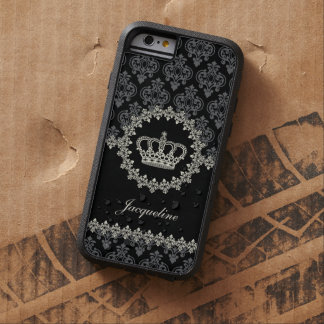Vintage Princess Damask Crown Tough Xtreme iPhone 6 Case