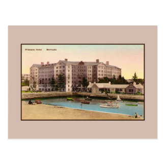 Vintage Princess Hotel Bermuda Postcard
