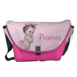 Vintage Princess Pink Baby Diaper Bag Commuter Bags