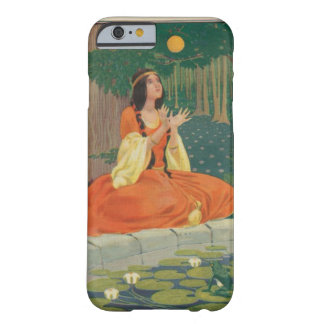 Vintage Princess Playing with Golden Ball Barely There iPhone 6 Case