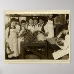 Vintage print  boys Daughaday Model printing press