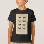 Vintage Print - Polyommatus - Moths & Butterflies T-shirts