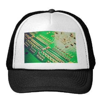 Vintage printed circuit board mesh hats