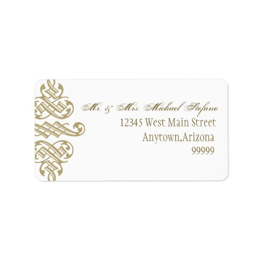 Vintage Printers Ornament- Matching Address Labels