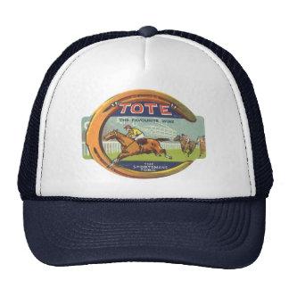 Vintage Product Label Art, Tote Tonic Trucker Hat