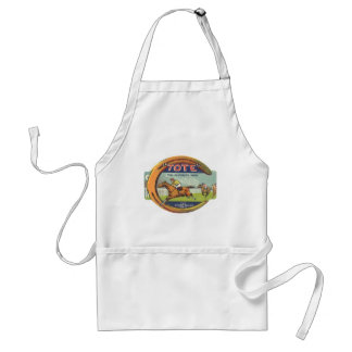 Vintage Product Label Art, Tote Tonic Standard Apron