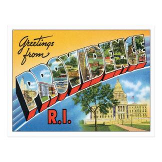 Vintage Providence Rhode Island Postcard