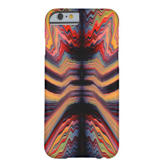 Vintage psychedelic pattern barely there iPhone 6 case