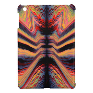 Vintage psychedelic pattern iPad mini case