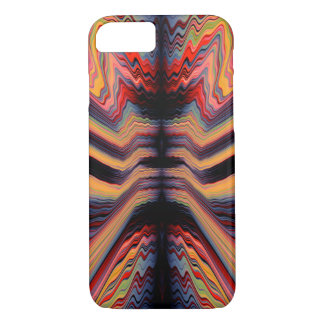 Vintage psychedelic pattern iPhone 8/7 case