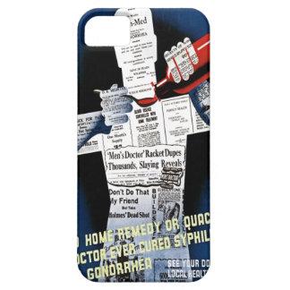 Vintage Public Health Poster Case-Mate Case iPhone 5 Case