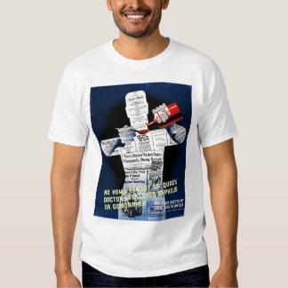 Vintage Public Health Poster Shirt