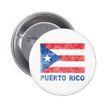 Vintage Puerto Rico Button