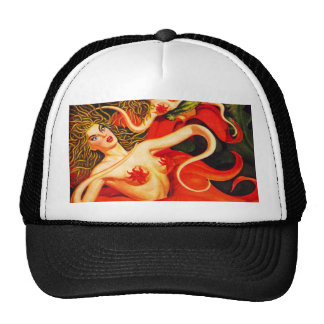 VINTAGE PULP ILLUSTRATION Trucker Hat