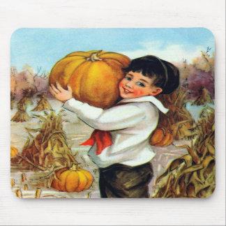 Vintage Pumpkins Mousepad