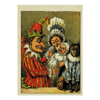 Vintage Punch and Judy Poster