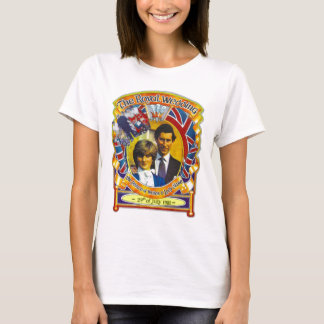 Vintage Punk  80'sroyal wedding Charles and Di T-Shirt