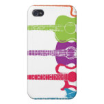 Vintage Punk Guitar iPhone Case Covers For iPhone 4