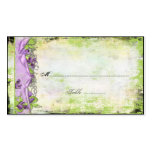 Vintage Purple Lavender Sweet Peas Place Cards Business Cards