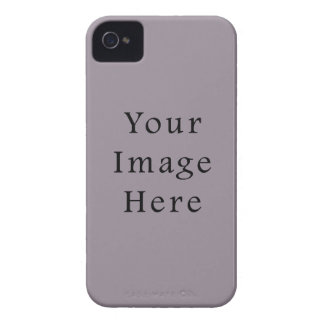 Vintage Purple Mauve Color Trend Blank Template iPhone 4 Covers