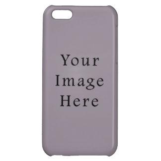 Vintage Purple Mauve Color Trend Blank Template iPhone 5C Case