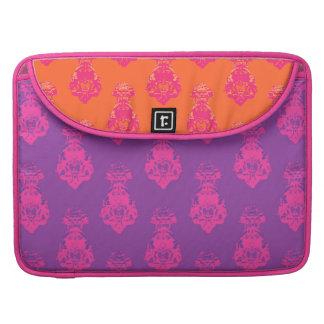 Vintage purple/orange color background sleeve for MacBook pro