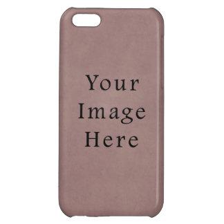 Vintage Purple Rose Pink Violet Parchment Paper iPhone 5C Cover