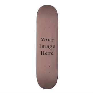 Vintage Purple Rose Pink Violet Parchment Paper Skateboard