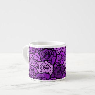 Vintage purple roses Espresso/ Jumbo Mug