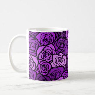 Vintage purple roses Mug