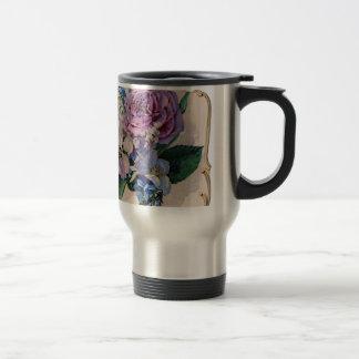 Vintage Purple Roses Mugs