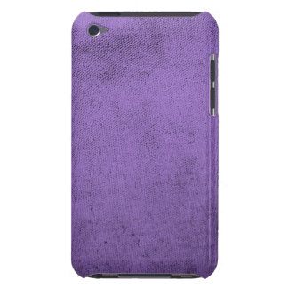 Vintage Purple Velvet Fabric Texture Barely There iPod Covers