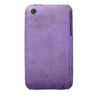 Vintage Purple Velvet Fabric Texture iPhone 3 Cases