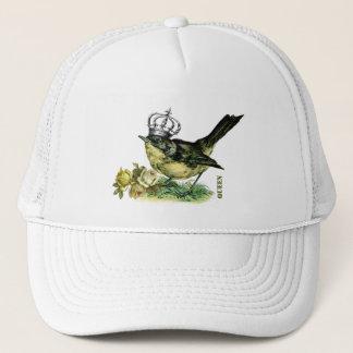 Vintage Queen Bird.  Valentine's Day Gift Hat