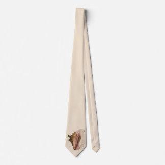 Vintage Queen Conch Seashell Shell, Marine Animal Tie
