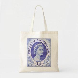 Vintage Queen Elizabeth II Rhodesia Tote Bag