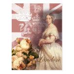Vintage Queen Victoria London Postcard