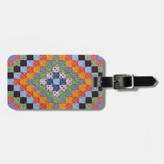 Vintage Quilt Pattern Bag Tag