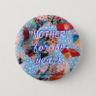 Vintage Quilt Pin-customise 6 Cm Round Badge