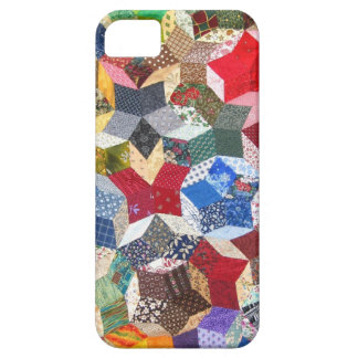Vintage Quilt Seamstress Geometric Pattern Barely There iPhone 5 Case