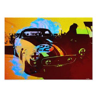 Vintage Racing Art Art Photo